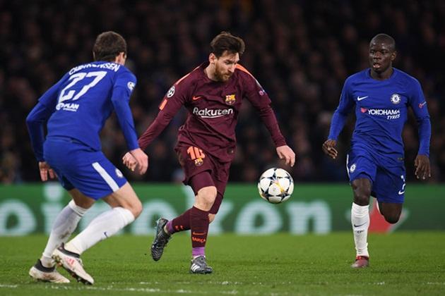 Chelsea cần làm gì để chặn được Messi và Barca? - Bóng Đá