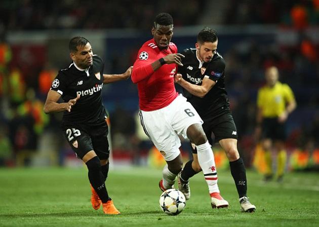 CĐV phẫn nộ với Pogba sau trận thua muối mặt trước Sevilla - Bóng Đá