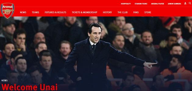 CHÍNH THỨC: Unai Emery trở thành tân HLV Arsenal - Bóng Đá