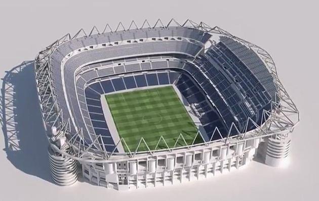 Real vay 650 triệu euro để trùng tu sân vận động - Bóng Đá