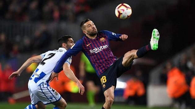 Alba cho rằng Barca đá tệ là vì thi đấu với MU - Bóng Đá