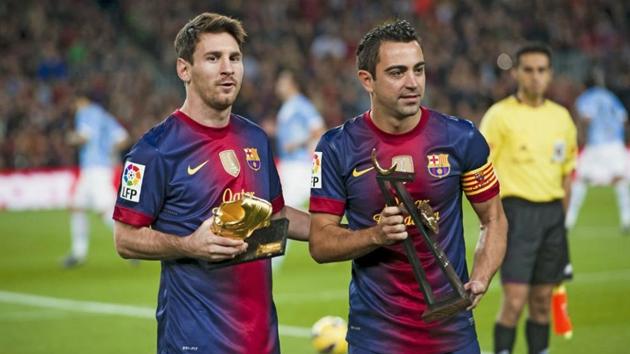 Messi gửi lời tri ân đến Xavi - Bóng Đá