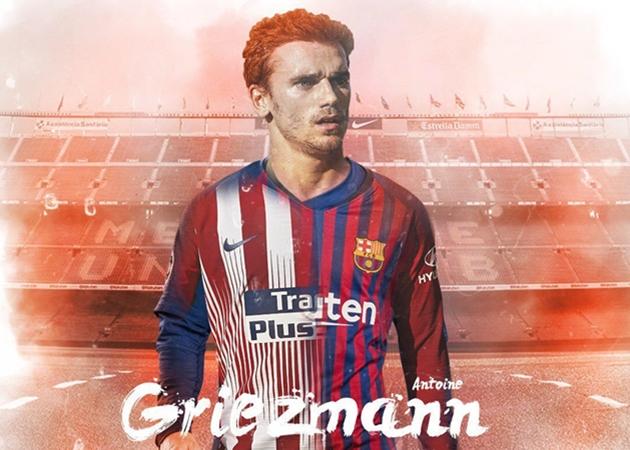 Griezmann có thỏa thuận ngầm với Barca - Bóng Đá