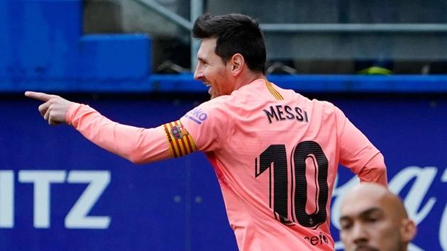 Messi lập lỷ lục Pichichi - Bóng Đá