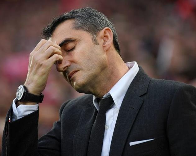 Valverde có thể bị cách chức vì một lý do - Bóng Đá
