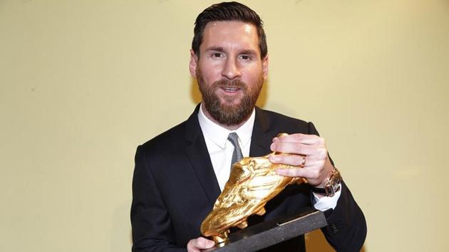 Messi giành chiếc giày vàng - Bóng Đá