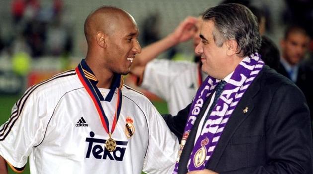 Anelka ngừng tập luyện vì Real Madrid không ăn mừng bàn thắng của anh ấy - Bóng Đá