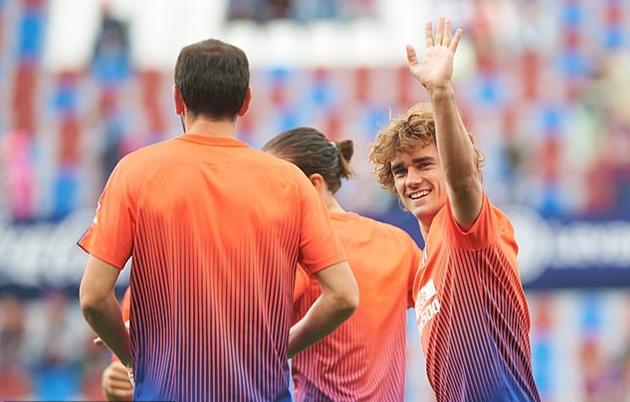 Barca sẽ không ấn định ngày ra mắt Griezmann - Bóng Đá