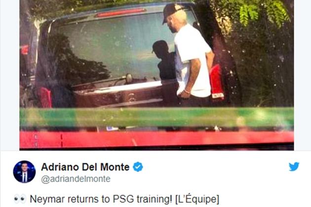 Neymar đã trở lại PSG - Bóng Đá