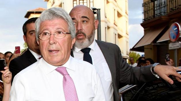 Chủ tịch Atletico nói về vụ James Rodriguez - Bóng Đá