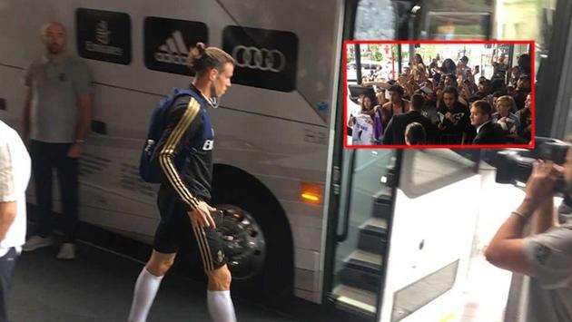Bale không chịu ký tên cho các CĐV - Bóng Đá