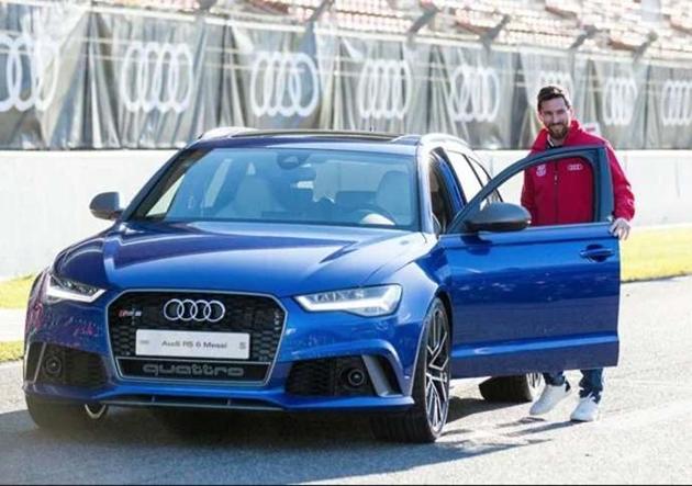 Audi đòi lại xe sau khi kết thúc hợp đồng với Barca - Bóng Đá