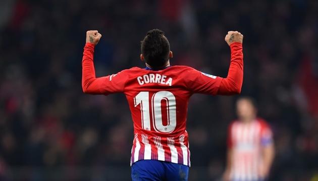 Correa đồng ý gia nhập AC Milan - Bóng Đá