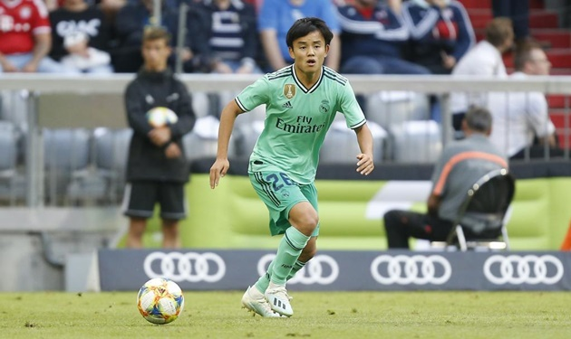 Kubo có thể bị đem cho Real Valladolid mượn - Bóng Đá