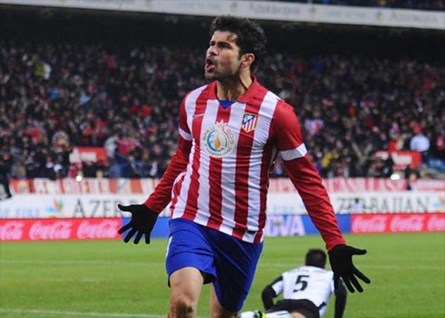 Diego Costa dính chấn thương - Bóng Đá