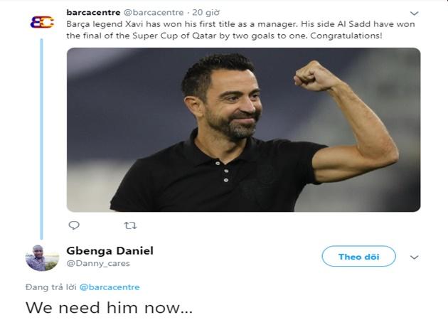 Fan Barca đòi thay Valverde bằng Xavi Hernandez - Bóng Đá