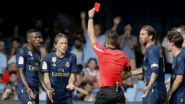 Real kháng cáo thẻ đỏ của Modric - Bóng Đá
