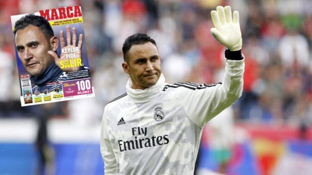 Navas muốn rời Real - Bóng Đá