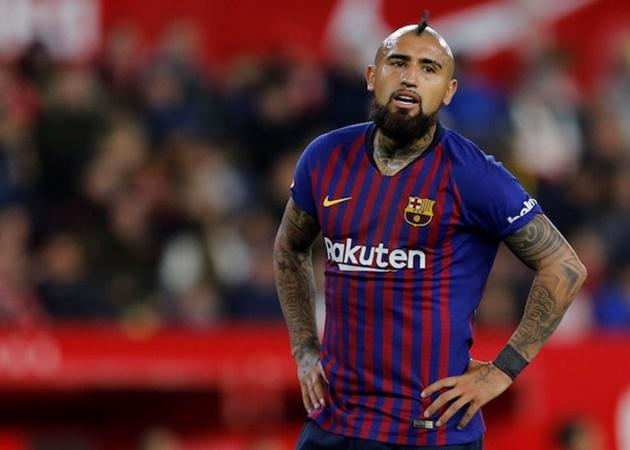 Barca từ chối đề nghị mua Vidal của Inter - Bóng Đá