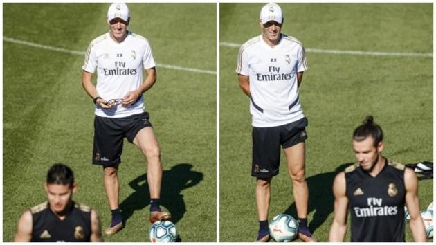 Zidane làm hòa với Bale và James - Bóng Đá