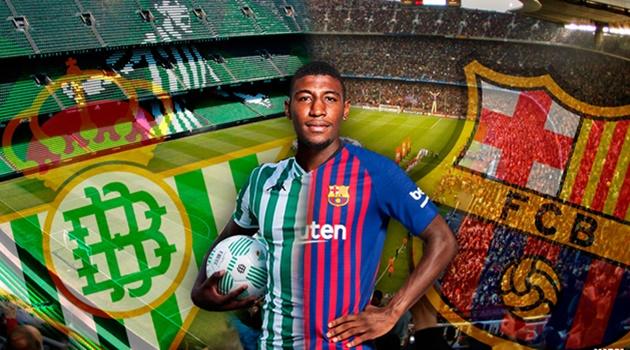 Barca theo đuổi Emerson của Real Betis - Bóng Đá
