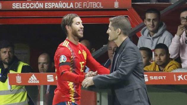 Ramos đặt ra mục tiêu mới trong màu áo Tây Ban Nha - Bóng Đá