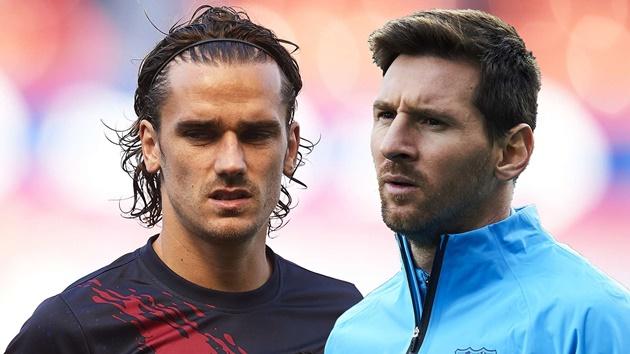 Messi lần đầu nói về mối quan hệ với Griezmann - Bóng Đá