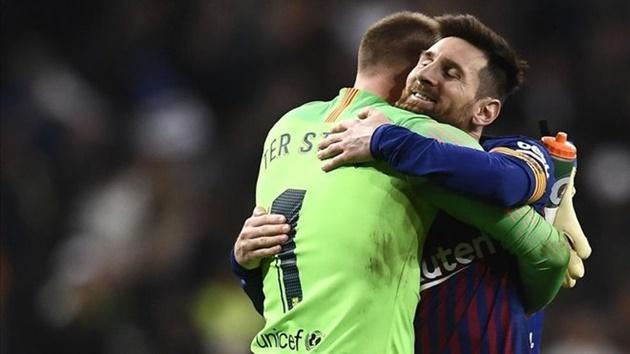 Ter Stegen nói về tương lai của Messi - Bóng Đá