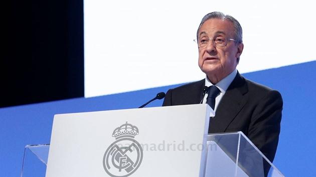 Florentino Perez đáp trả việc NHM nói ông không biết gì về bóng đá - Bóng Đá