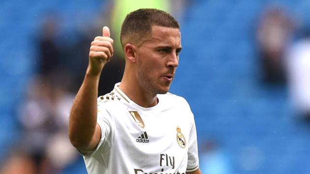 Zidane nói Hazard sẵn sàng cho trận đấu sắp tới - Bóng Đá