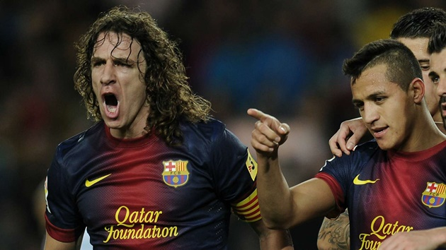 Puyol is the greatest captain I've played with, says Sanchez ahead of Barcelona return - Bóng Đá