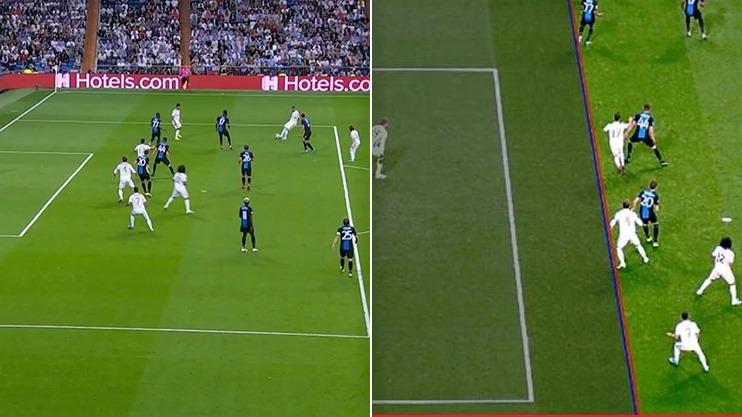 SỐC! Lộ hình ảnh 'cú lừa' không thể tin nổi ở bàn thắng của Ramos - Bóng Đá