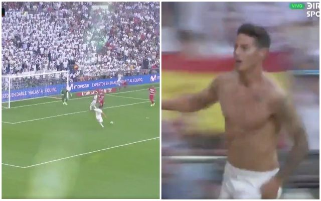 Video: James Rodriguez's first goal since returning to Real Madrid - Bóng Đá
