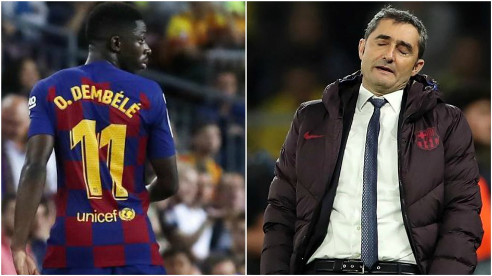 Ousmane Dembele to miss Clasico after being hit with two-match ban - Bóng Đá