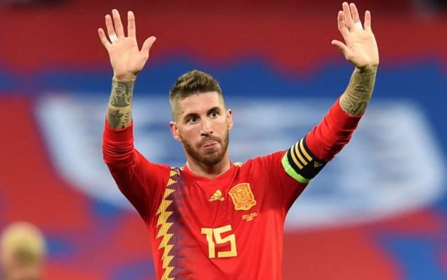 Sergio Ramos makes history as he breaks Spain record in clash with Norway - Bóng Đá