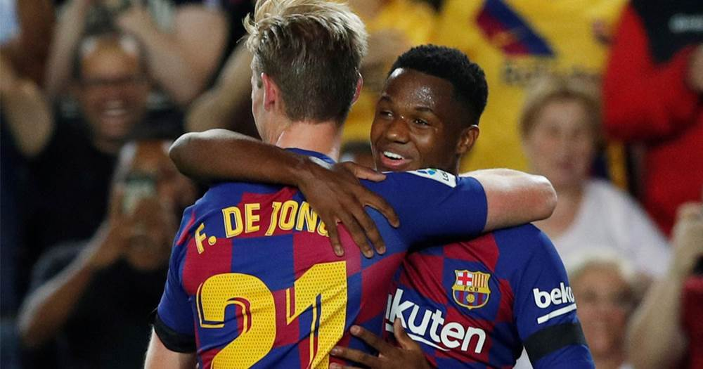 BARCELONABarcelona: Fans heap praise on Frenkie de Jong after dream start to Blaugrana career - Bóng Đá