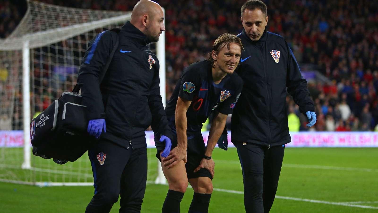 Bale và Modric dính chấn thương - Bóng Đá