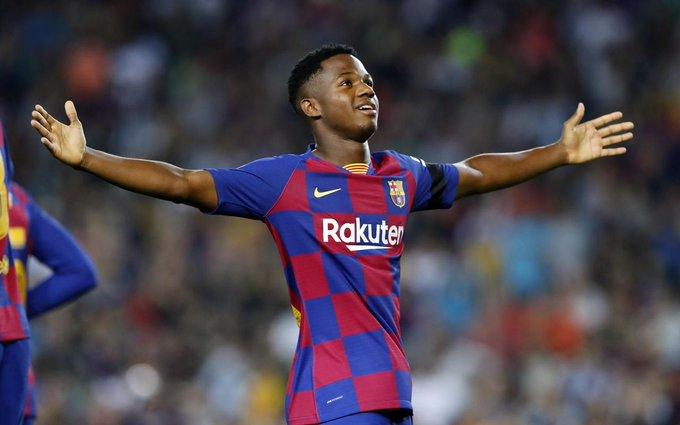 BARCELONABarcelona: Many fans are surprised to see Ansu Fati on the Golden Boy award shortlist - Bóng Đá