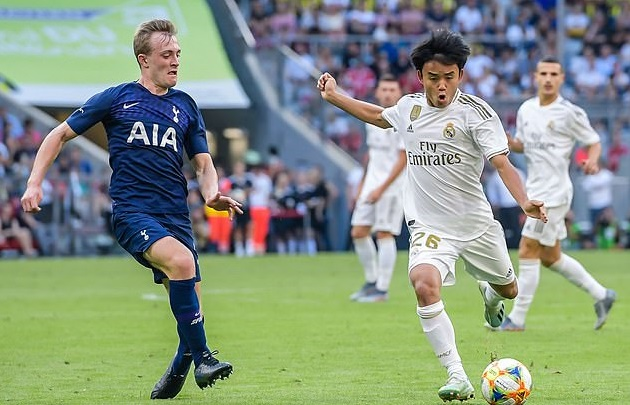 akefusa Kubo has revealed that he swapped Barcelona for Real Madrid - Bóng Đá