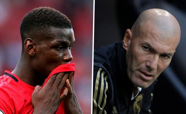 (Photo) Pogba spotted chatting with Zidane as Man United star prepares fresh push for Real Madrid transfer - Bóng Đá