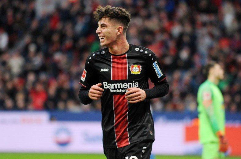Barcelona are reportedly set to cross paths with Paris Saint-Germain as both European giants have set their sights on Bayer Leverkusen's Kai Havertz. - Bóng Đá