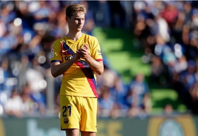 Barcelona's Frenkie de Jong thanks fans for Eibar ovation - Bóng Đá