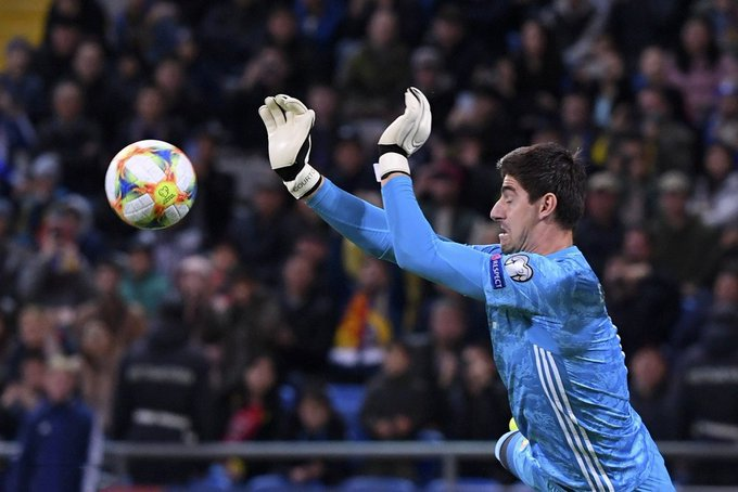 Thibaut Courtois Has Conceded 12 Goals And Made 11 Saves This Season - Bóng Đá