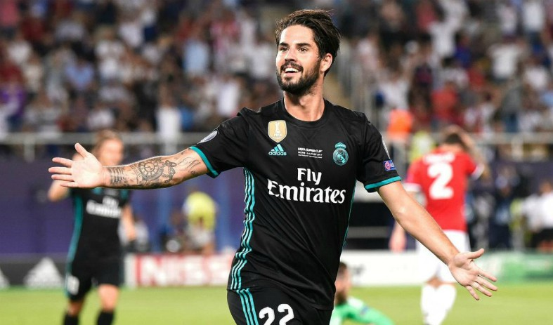 Manchester United reportedly look closer to sealing the transfer of Real Madrid attacking midfielder Isco this January  - Bóng Đá