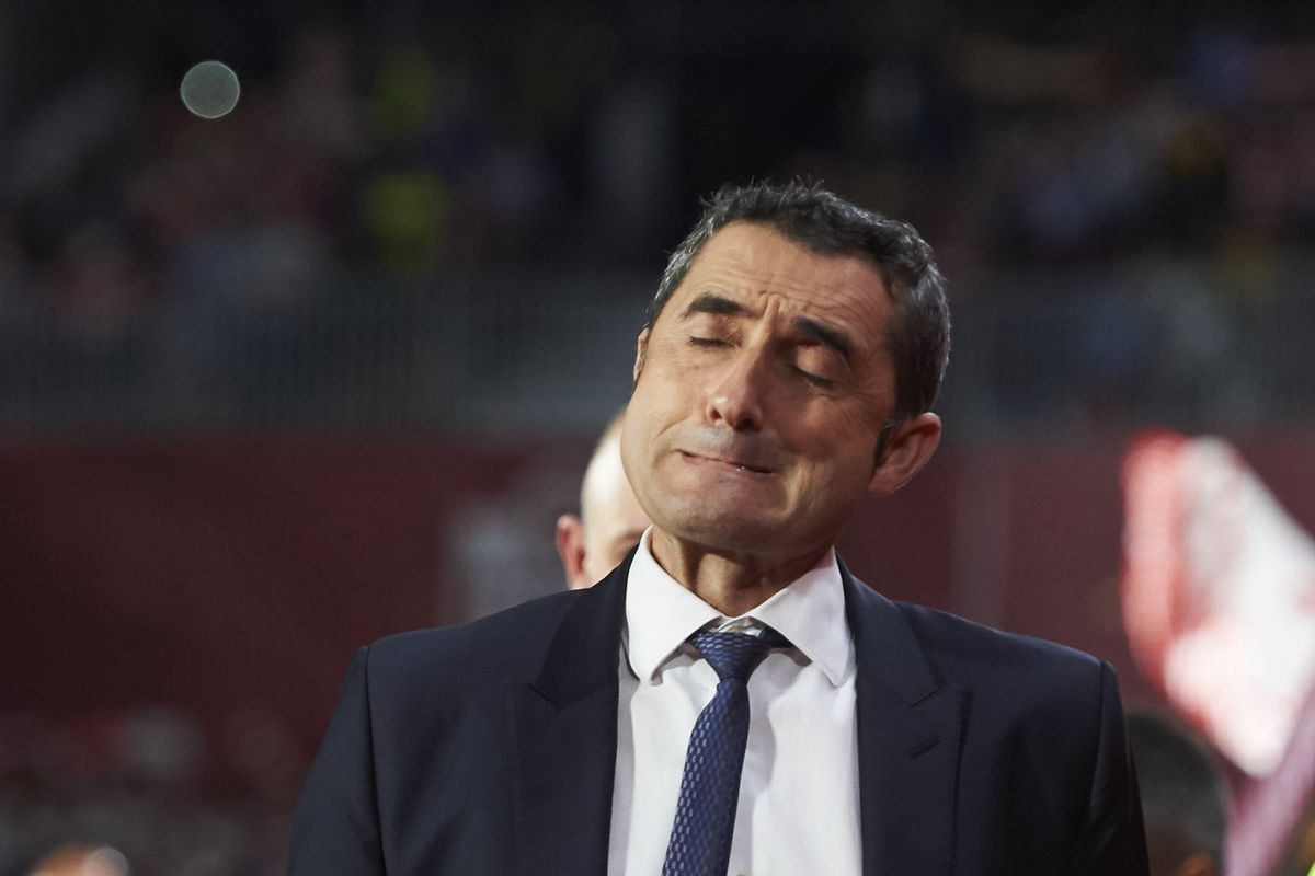Barcelona fans react to Ernesto Valverde's coach ranking - Bóng Đá