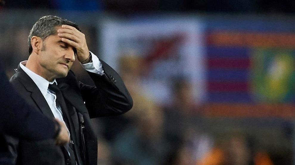 Valverde không hài lòng với những tiếng huýt sáo.