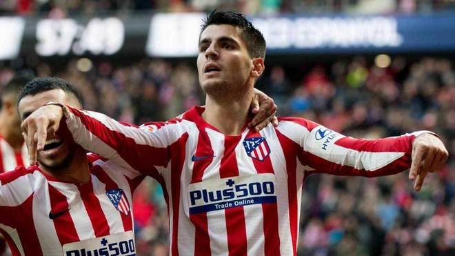 Morata equals Griezmann's best run - Bóng Đá
