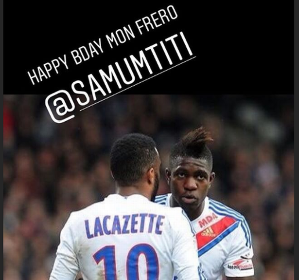 Alexandre Lacazette sends Instagram message to Barcelona star ahead of January transfer window - Bóng Đá