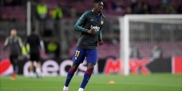 Barcelona's Ousmane Dembele is the latest name to be linked with a big-money move to Arsenal - Bóng Đá