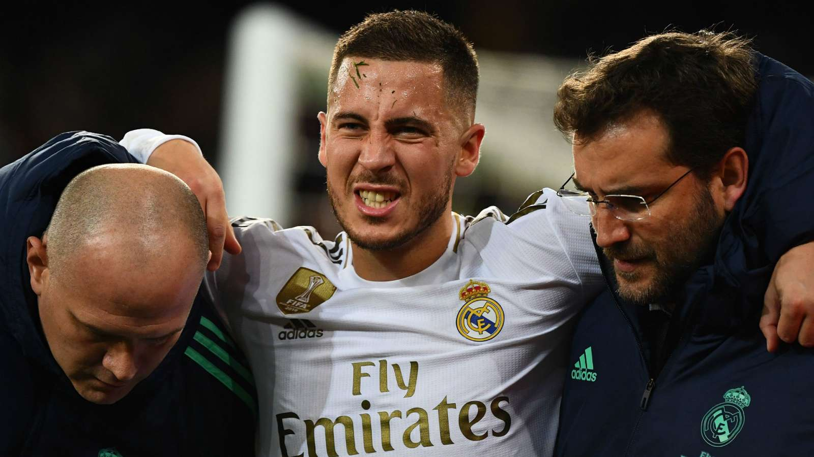 Hazard limps off for Real Madrid with ankle injury against PSG - Bóng Đá